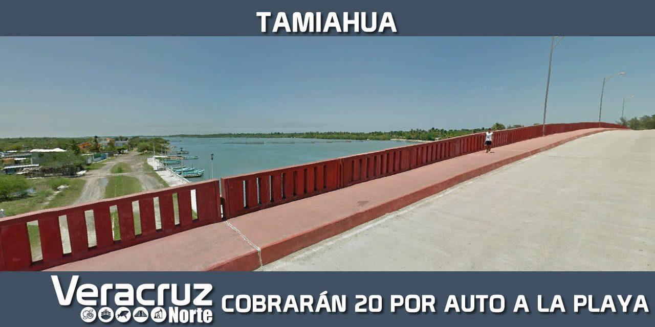 En Tamiahua Cobrarán 20 Pesos por Auto el Ingreso a la Playa