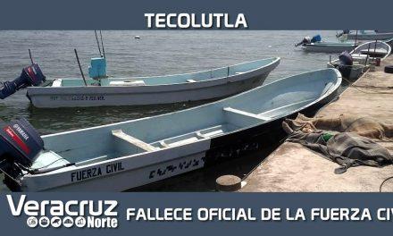 Fallece oficial de la Fuerza Civil tras operación de rescate, en Tecolutla