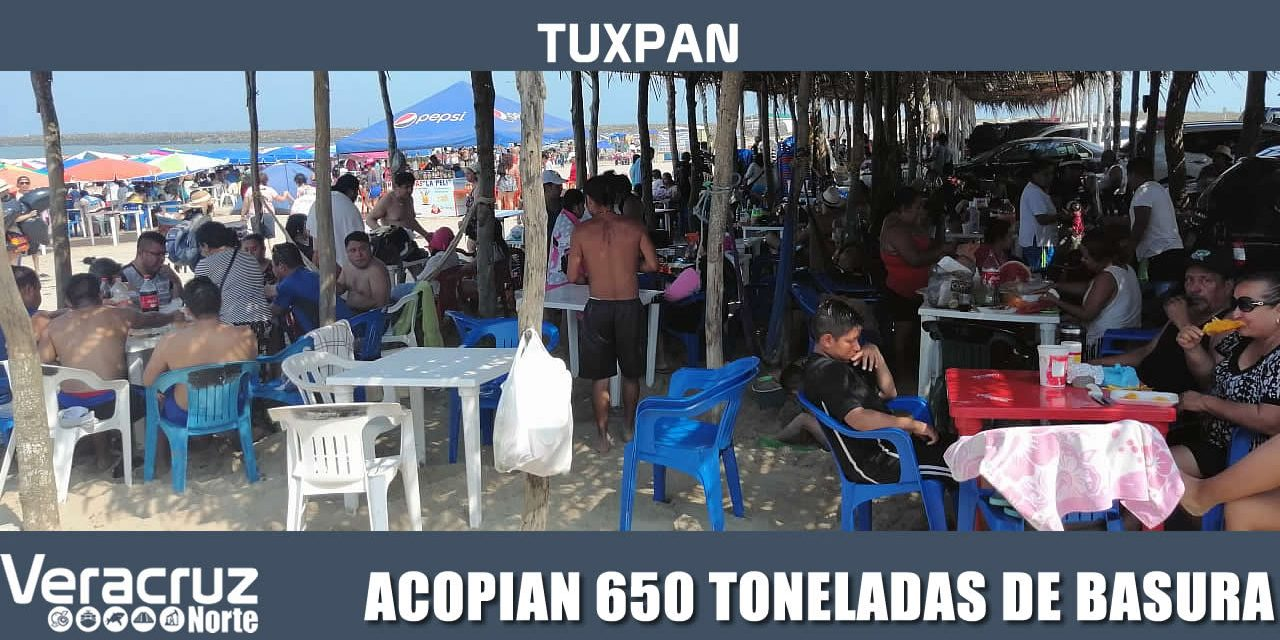 LIMPIA PÚBLICA ACOPIA 650 TONELADAS DE BASURA EN SEMANA SANTA