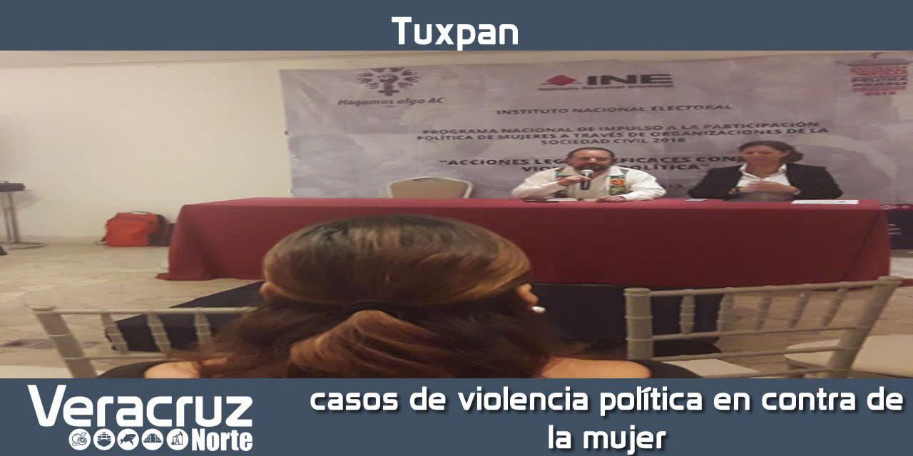 Inclusión en el código electoral casos de violencia política en contra de la mujer