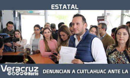 DENUNCIAN A CUITLAHUAC ANTE LA FGE