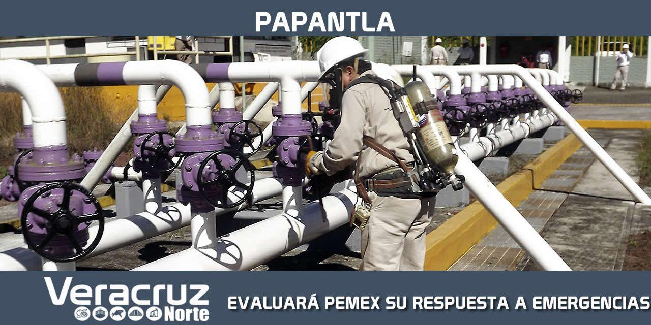 PEMEX EVALUARÁ SU RESPUESTA A EMERGENCIAS