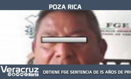 OBTIENE FGE SENTENCIA DE 15 AÑOS DE PRISIÓN POR PEDERASTIA AGRAVADA