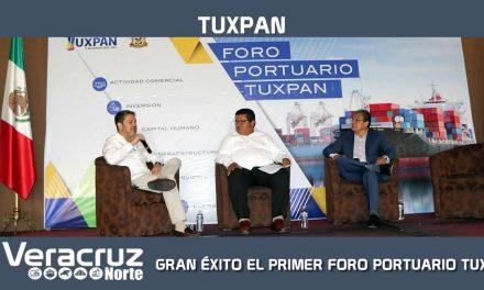 GRAN ÉXITO EL PRIMER FORO PORTUARIO TUXPAN