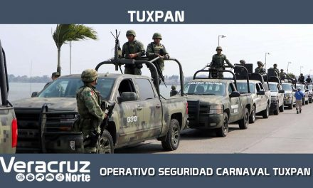 BANDERAZO OPERATIVO SEGURIDAD CARNAVAL TUXPAN 2019
