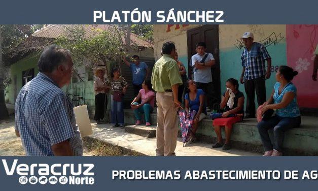 PROBLEMAS CON ABASTECIMIENTO DE AGUA A LA POBLACIÓN