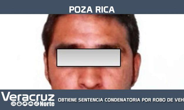 OBTIENE SENTENCIA CONDENATORIA POR ROBO DE VEHÍCULO