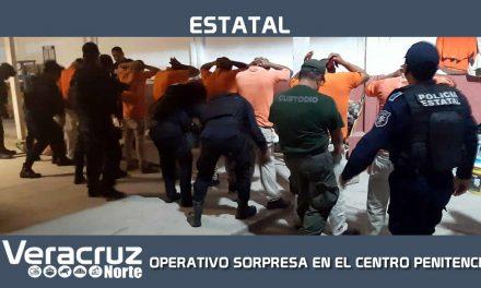 REALIZA SSP OPERATIVO SORPRESA EN EL CENTRO PENITENCIARIO DE PAPANTLA