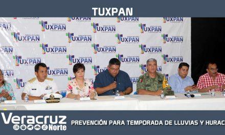 PREVENCIÓN PARA LA TEMPORADA DE LLUVIAS Y HURACANES