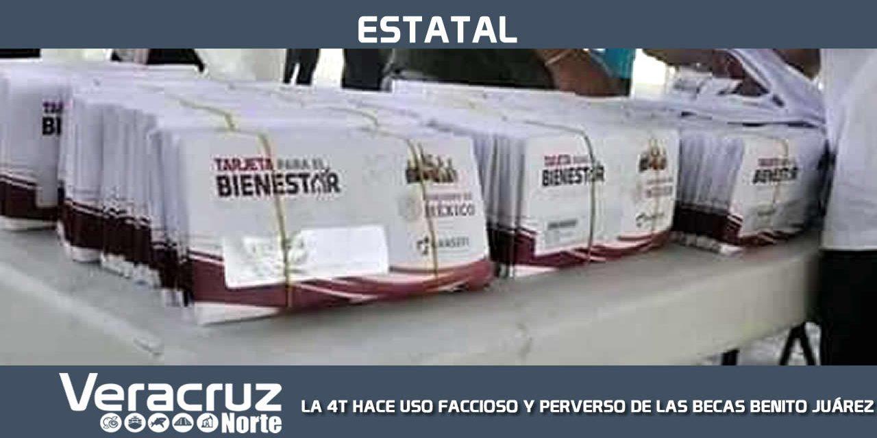"""LA 4T HACE USO FACCIOSO Y PERVERSO DE LAS BECAS «BENITO JUÁREZ"""""""