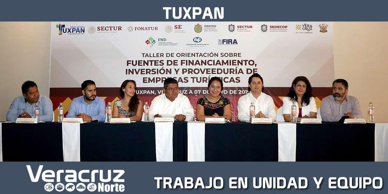 TRABAJO EN UNIDAD Y EQUIPO PARA FORTALECER A TUXPAN Y ZONA NORTE: XAL