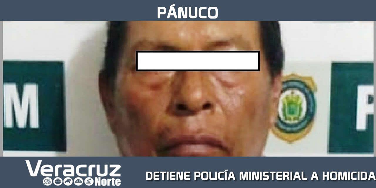 DETIENE POLICÍA MINISTERIAL DE PÁNUCO A HOMICIDA