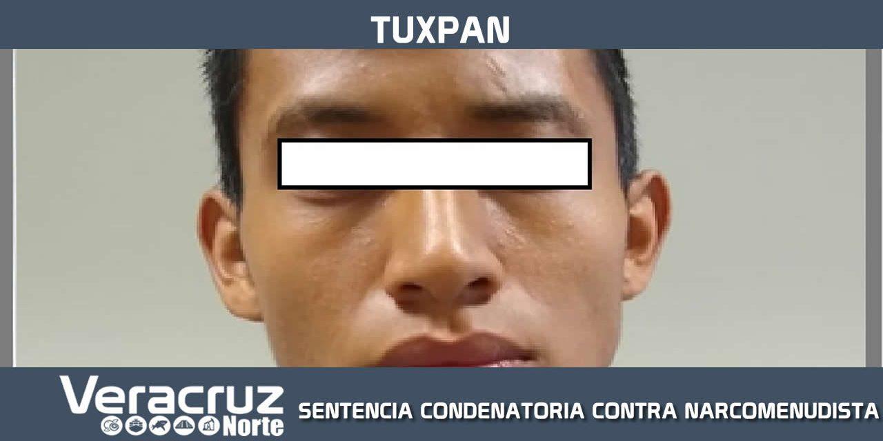 FISCALÍA REGIONAL TUXPAN OBTIENE SENTENCIA CONDENATORIA CONTRA NARCOMENUDISTA