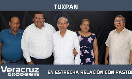 GOBIERNO MUNICIPAL EN ESTRECHA RELACIÓN CON PASTORES