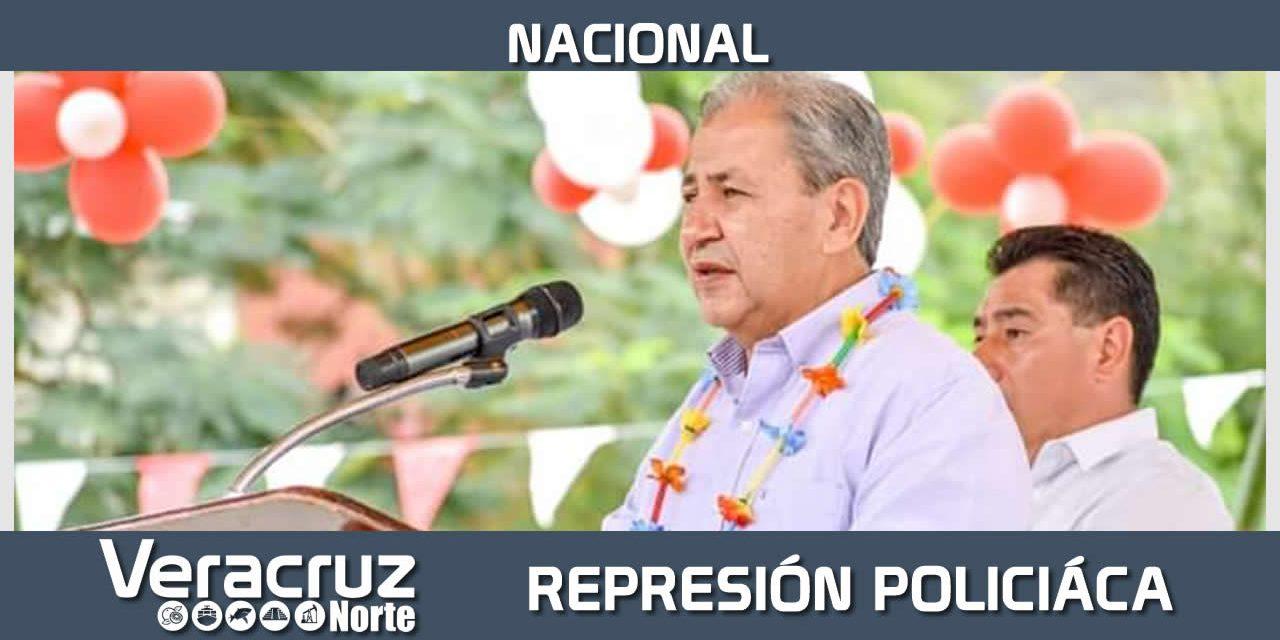 Ante la represión policíaca de Omar Fayad en Hidalgo, la unidad del antorchismo nacional.