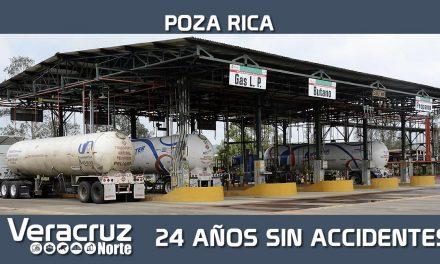 La Terminal de Gas Licuado Poza Rica cumple 24 años sin accidentes