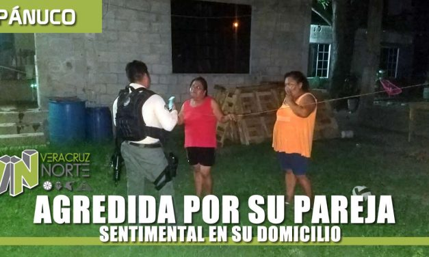 AGREDIDA POR SU PAREJA SENTIMENTAL EN SU DOMICILIO