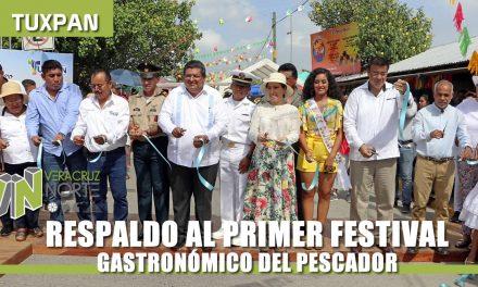 RESPALDO AL PRIMER FESTIVAL GASTRONÓMICO DEL PESCADOR