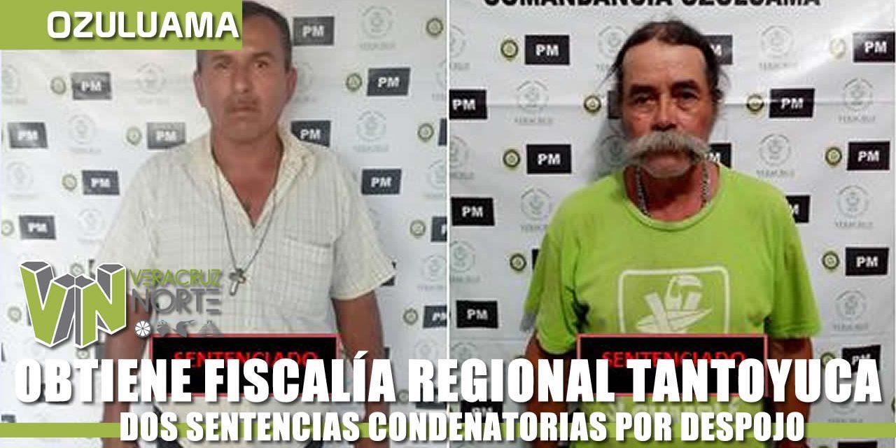OBTIENE FISCALÍA REGIONAL DOS SENTENCIAS CONDENATORIAS