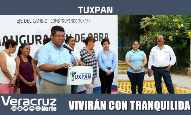 VIVIRÁN CON TRANQUILIDAD EN LA COLONIA LOS MANGOS