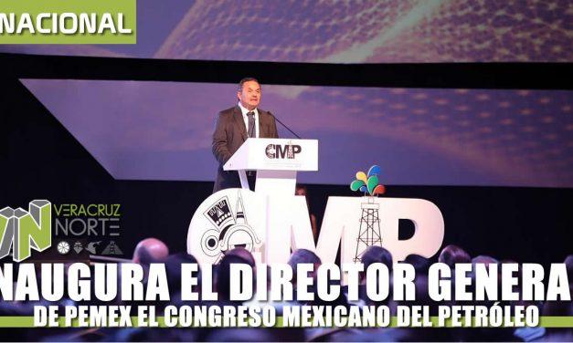 INAUGURA EL DIRECTOR GENERAL DE PEMEX EL «CMP»
