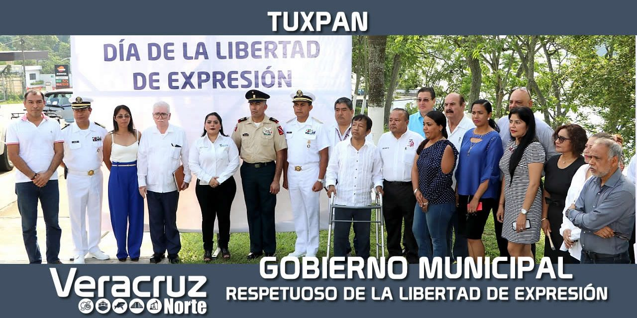 Gobierno Municipal respetuoso de la Libertad de Expresión
