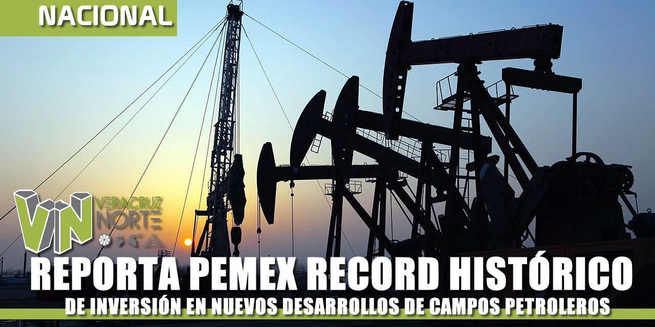 REPORTA PEMEX RECORD HISTÓRICO DE INVERSIÓN