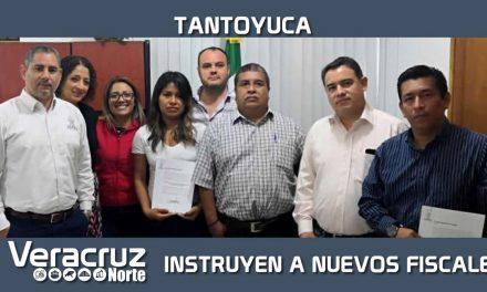 Instruyen a nuevos Fiscales adscritos a la zona norte-Tantoyuca