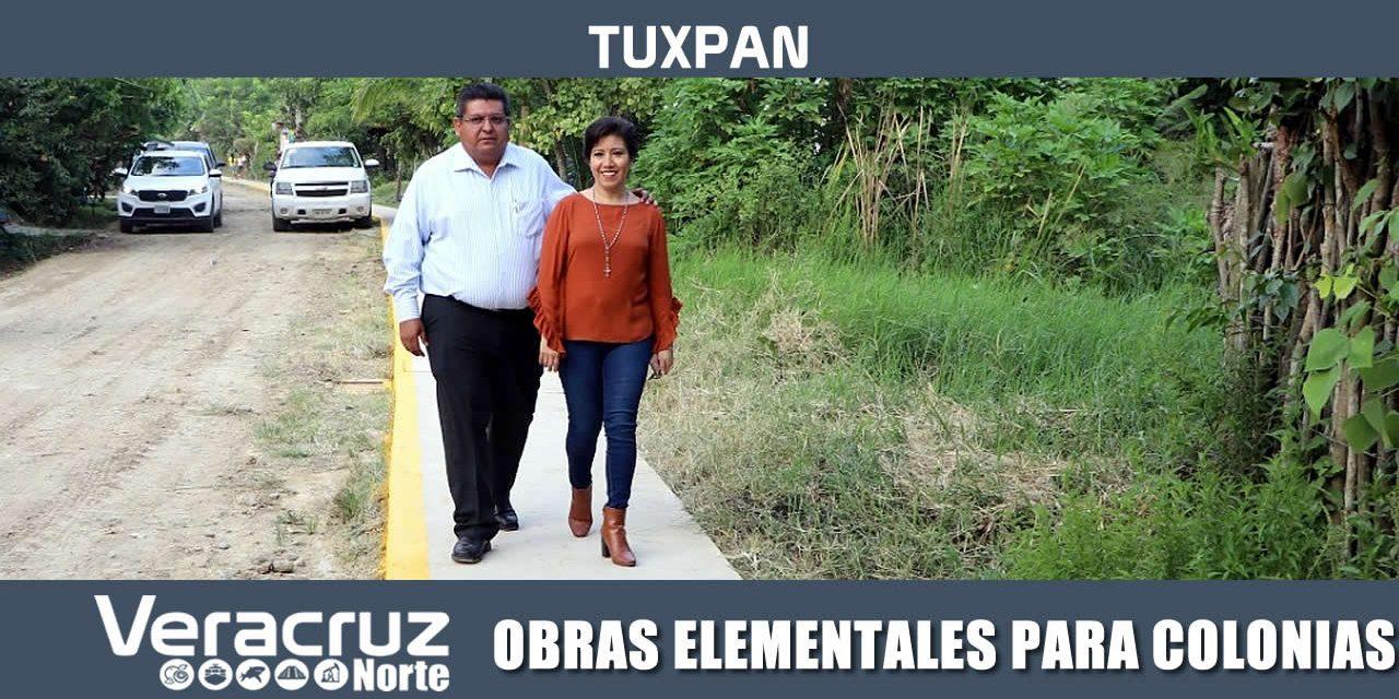 OBRAS ELEMENTALES PARA COLONIAS DE TUXPAN