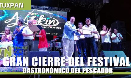 GRAN CIERRE DEL FESTIVAL GASTRONÓMICO DEL PESCADOR