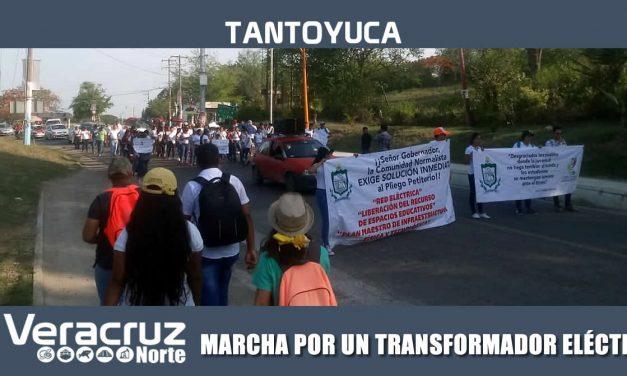 MARCHA POR UN TRANSFORMADOR ELÉCTRICO