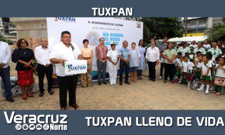 Queremos un Tuxpan lleno de vida: Toño Aguilar