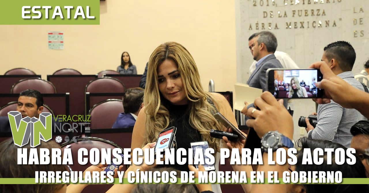 HABRÁ CONSECUENCIAS PARA LAS IRREGULARES DE MORENA