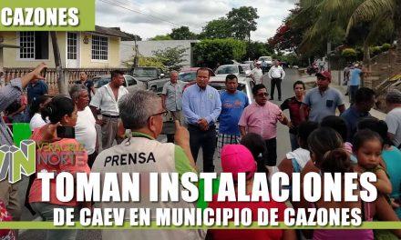 TOMAN INSTALACIONES DE CAEV EN MUNICIPIO DE CAZONES