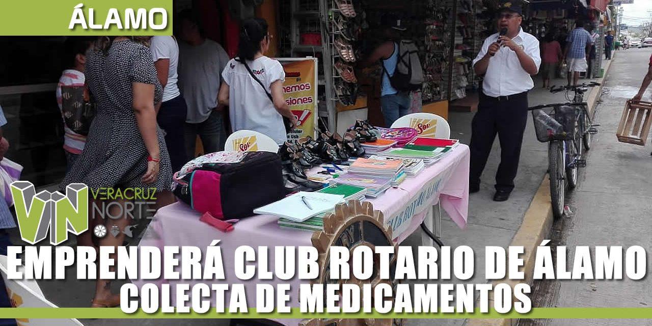 EMPRENDERÁ CLUB ROTARIO COLECTA DE MEDICAMENTOS