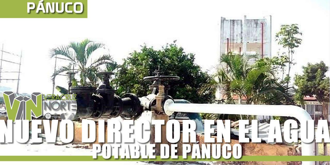 NUEVO DIRECTOR EN EL AGUA POTABLE DE PÁNUCO