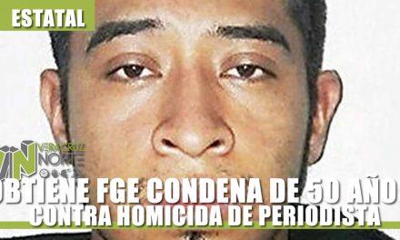 OBTIENE FGE CONDENA DE 50 AÑOS DE PRISIÓN