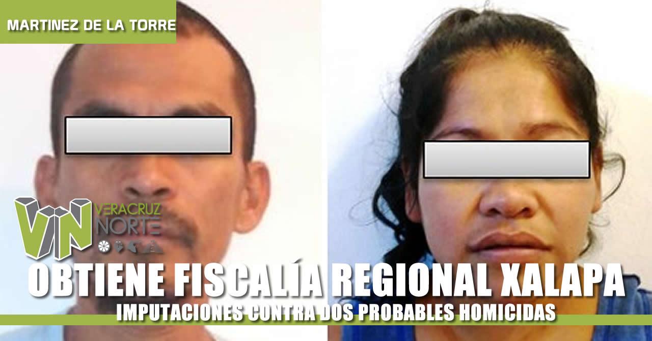 FISCALÍA REGIONAL XALAPA OBTIENE IMPUTACIONES