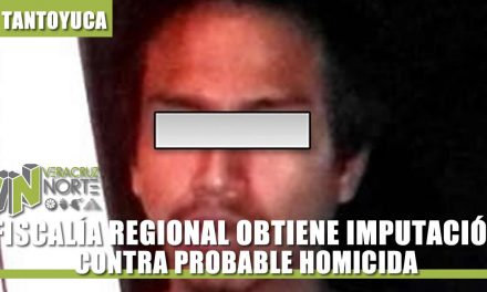 OBTIENEN IMPUTACIÓN CONTRA PROBABLE HOMICIDA