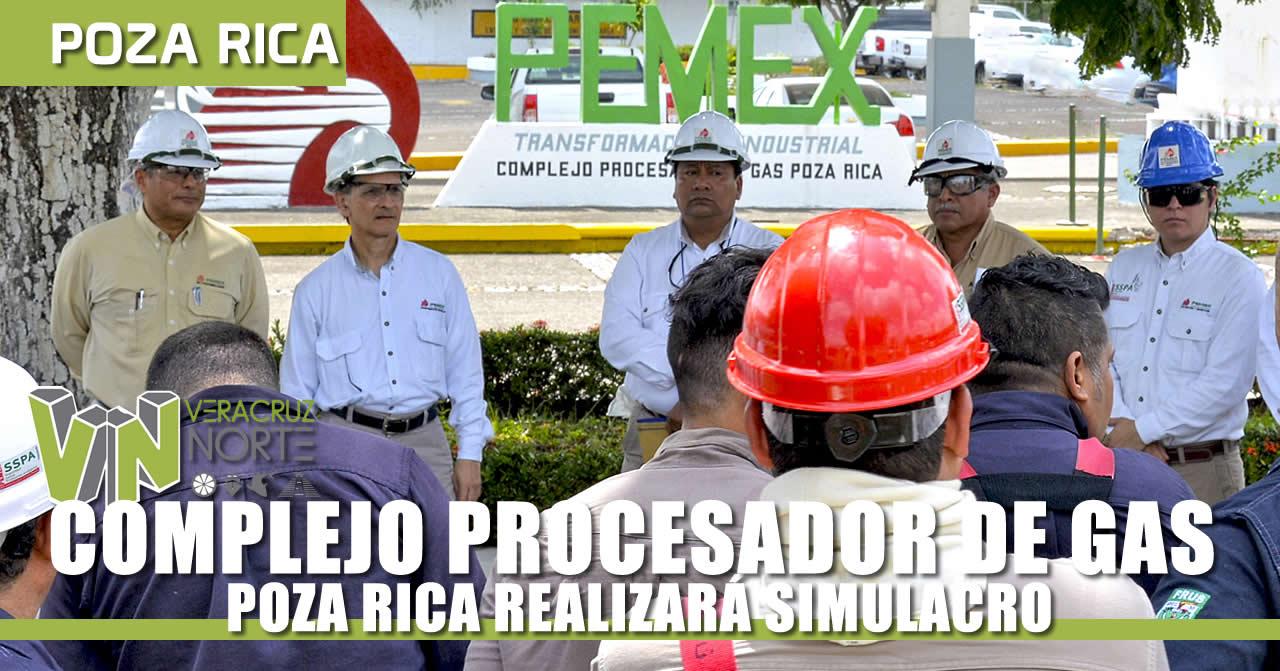 COMPLEJO PROCESADOR DE GAS P.R. REALIZARÁ SIMULACRO