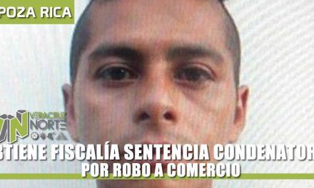OBTIENE FISCALÍA SENTENCIA CONDENATORIA POR ROBO