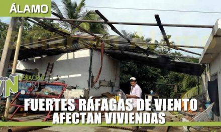 FUERTES RÁFAGAS DE VIENTO AFECTAN VIVIENDAS