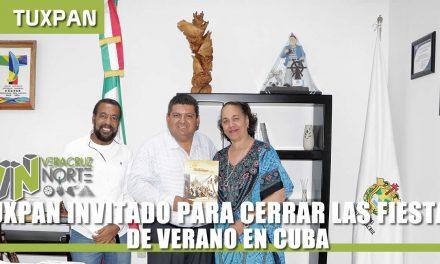 TUXPAN INVITADO PARA LAS FIESTAS DE VERANO EN CUBA