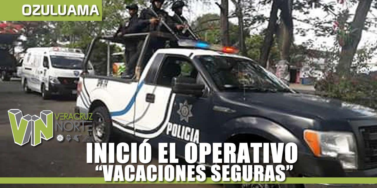 INICIÓ EL OPERATIVO VACACIONES SEGURAS