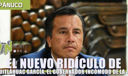 El nuevo RIDÍCULO de Cuitláhuac García, el gobernador incómodo de la 4T