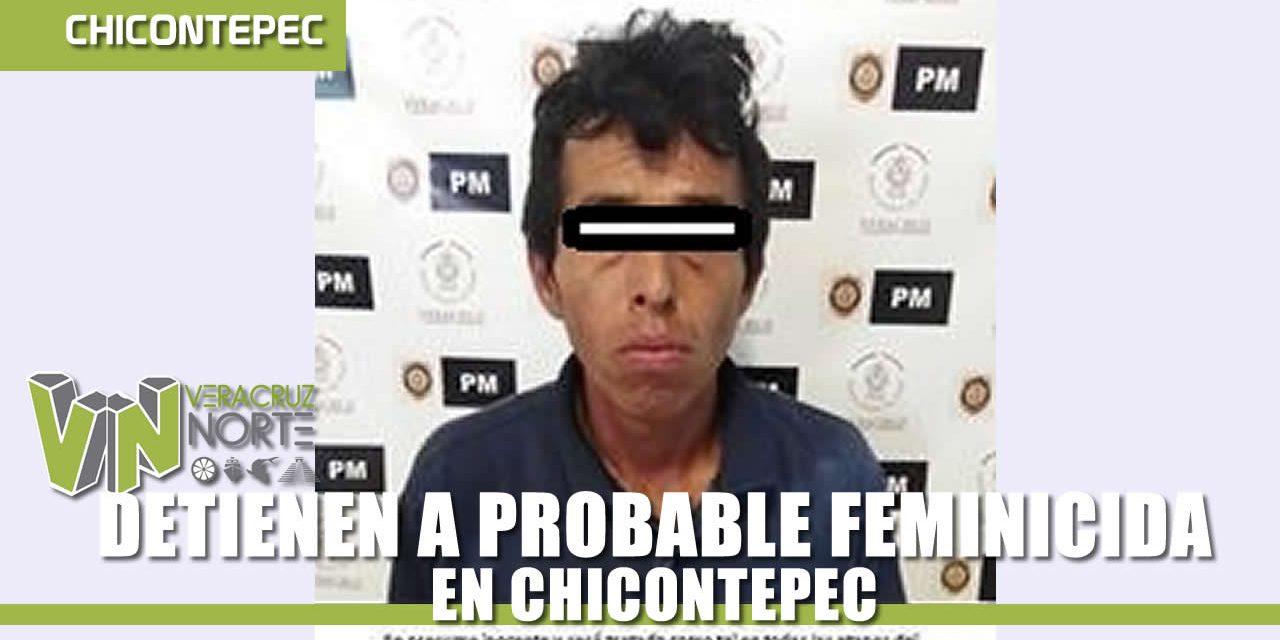 DETIENEN A PROBABLE FEMINICIDA, EN CHICONTEPEC