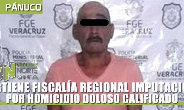 OBTIENE FISCALÍA REGIONAL IMPUTACIÓN POR HOMICIDIO