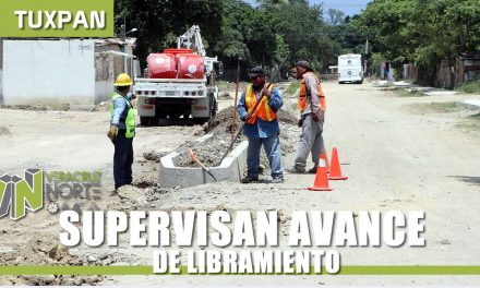 SUPERVISAN AVANCE DE LIBRAMIENTO ADOLFO LÓPEZ MATEOS