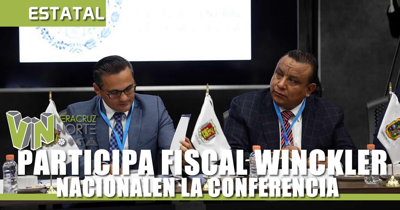 PARTICIPA FISCAL WINCKLER EN LA CONFERENCIA NACIONAL