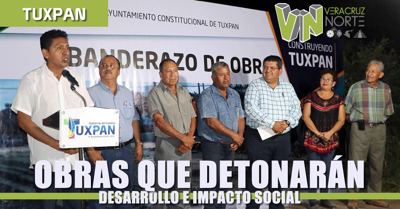 Obras que detonarán desarrollo e impacto social